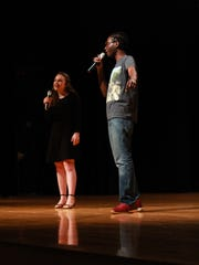 Wilfred and Mamie Odom performing rap captured by Anya