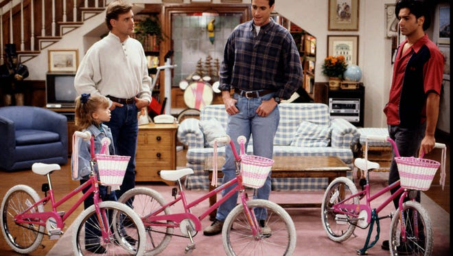Throwback from 1993: so, which one ACTUALLY is Michelle's bike?