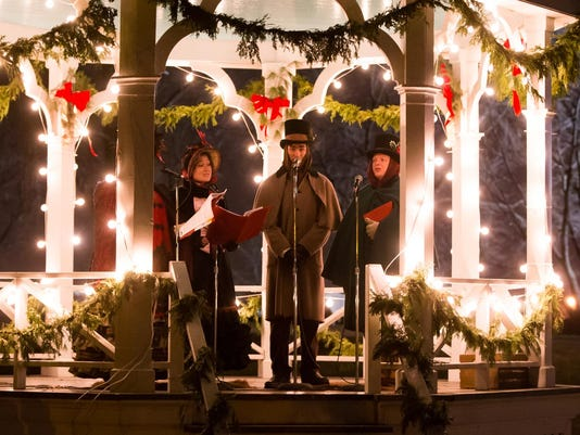 Holiday Nights_Carolers inside Greenfield Village during Holiday Nights _KMS Pho