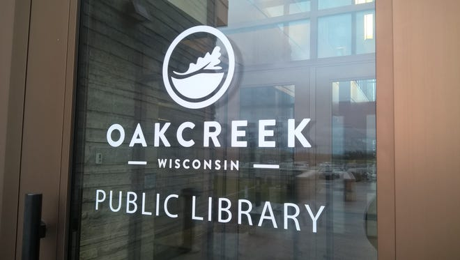 The Oak Creek Public Library, 8040 S. 6th St., Oak Creek, WI.