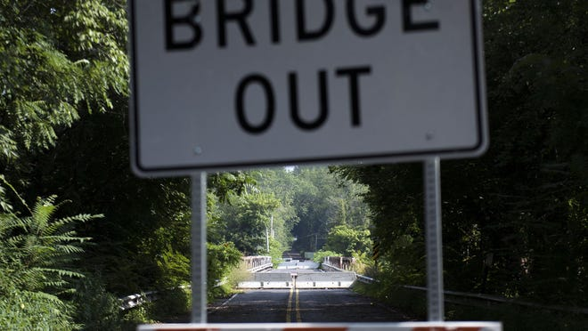 The Centerton Road Bridge in Mount Laurel has been closed since April 23. There's a chance the century-old bridge may not reopen to vehicles.