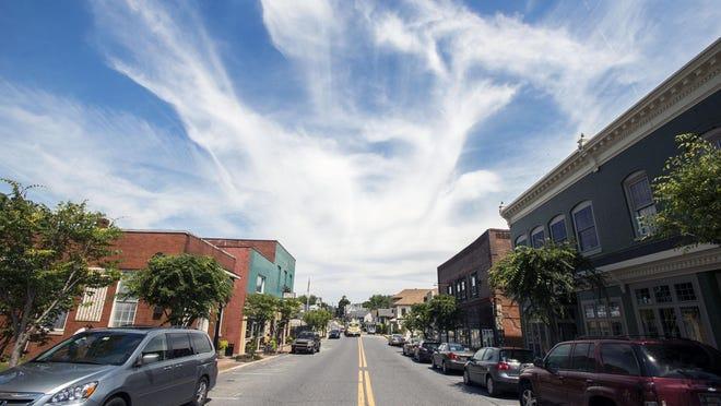 A view of downtown Milton.