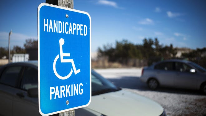 Handicap parking tickets in Martin County have fallen dramatically in Martin County since volunteer parking enforcement was discontinued.