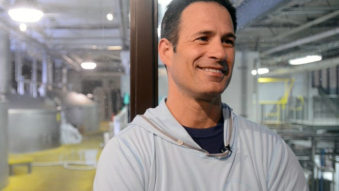 """""""We have a lot more to gain by helping each other than we do fighting with each other,"""" said Sam Calagione, founder and president of Dogfish Head Craft Brewery in Milton."""
