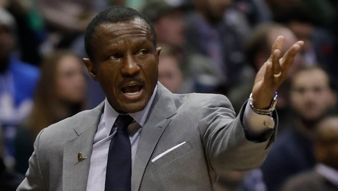 Dwane Casey led the Raptors to a franchise-record 59 wins this season.