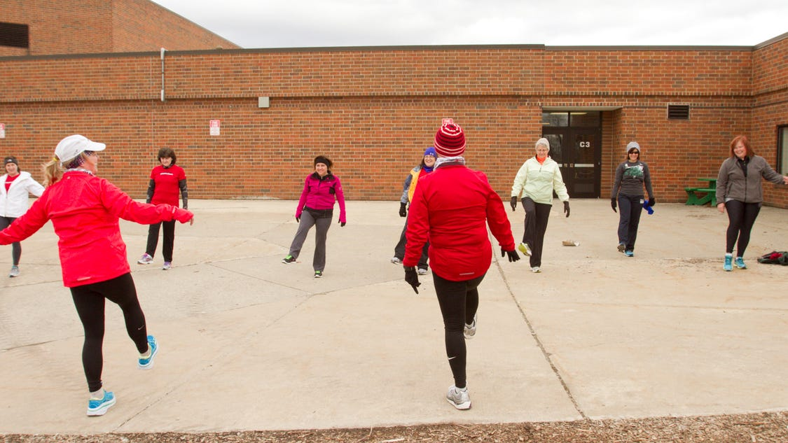 Program Gets Rusty Runners Off Couch Into Motion