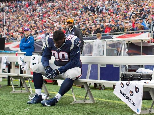 New England Patriots defensive tackle Vincent Valentine