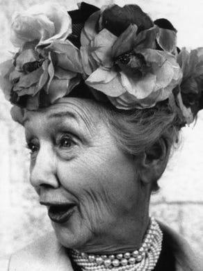 The correct response: Who is Hedda Hopper?