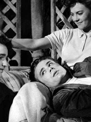 The correct response: Who areNatalie Wood, James Dean, and Sal Mineo?