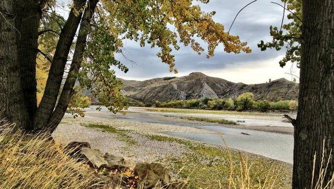 The Yellowstone River flows past Billings.