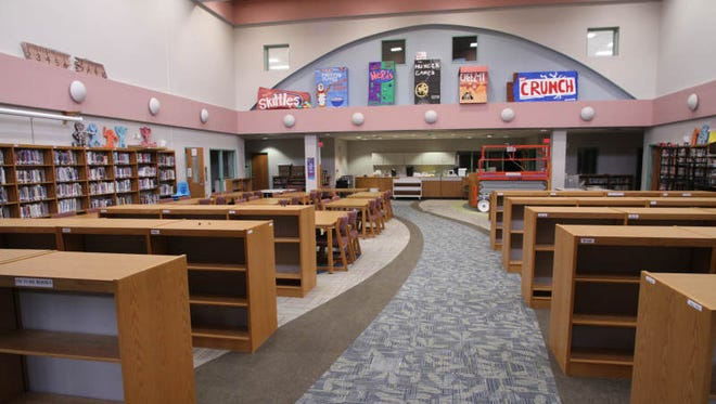 Scranton Middle School's Media Center.
