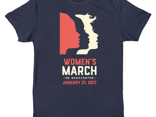 Official Women's March on Washington T-shirts are available
