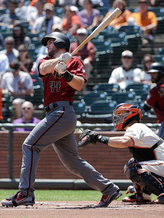 Paul Goldschmidt, Nick Hundley