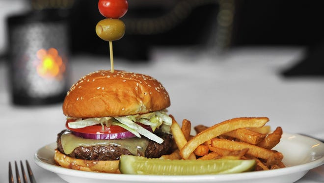 The steak burger is a favorite at Harry & Izzy's.