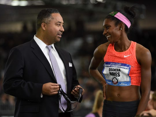 USA Track & Field chief executive officer Max Siegel