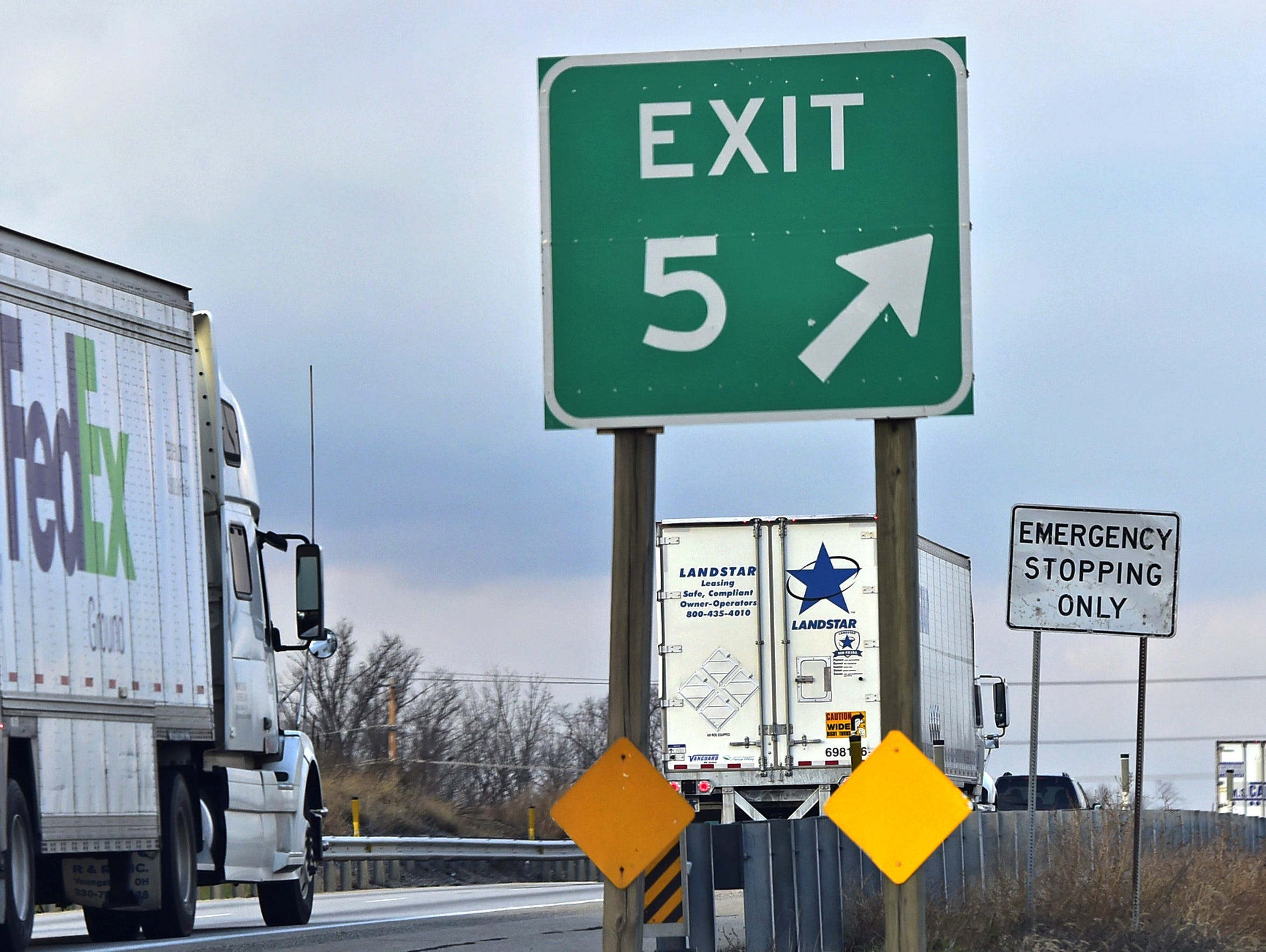 Interstate 81 is a significant factor in the the county's