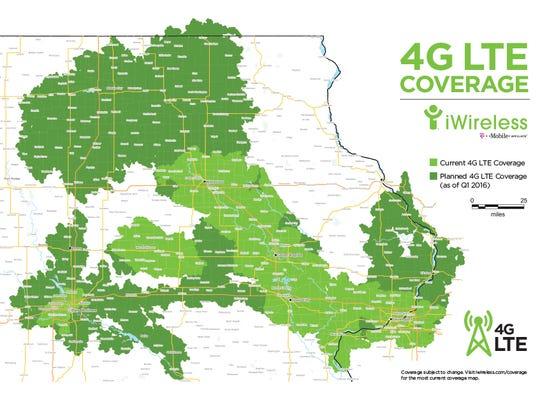 Broadband service in Iowa