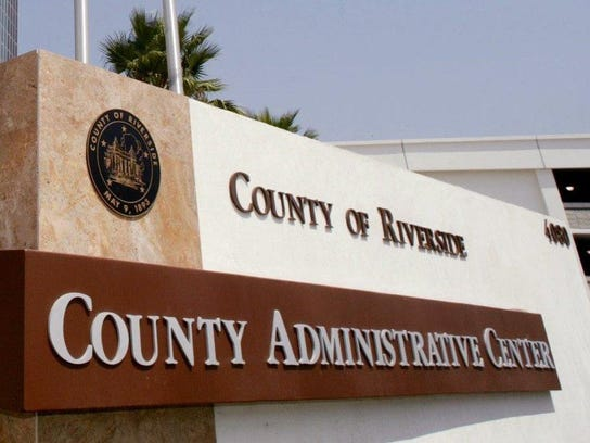 The Riverside County Administration Center.