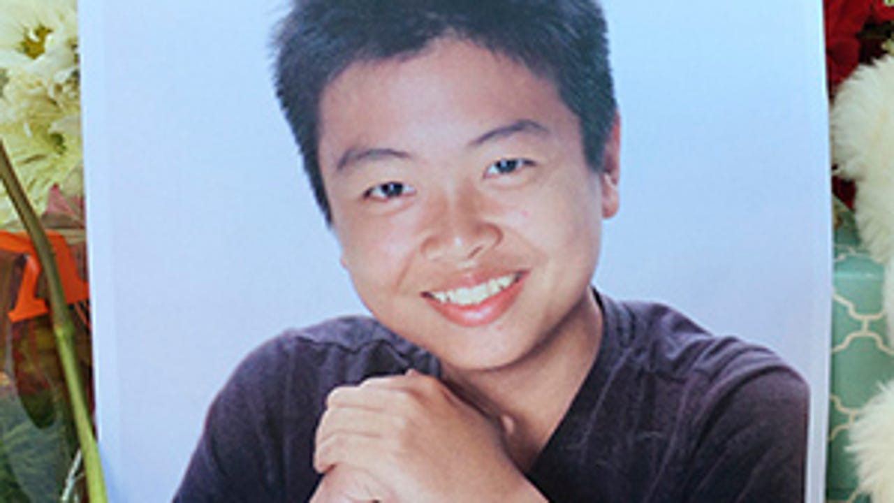 Friends and family of 15-year-old Peter Wang, who was shot and killed at Marjory Stoneman Douglas High School last week, gathered to say their final goodbyes at his funeral service Tuesday. (Feb. 20)