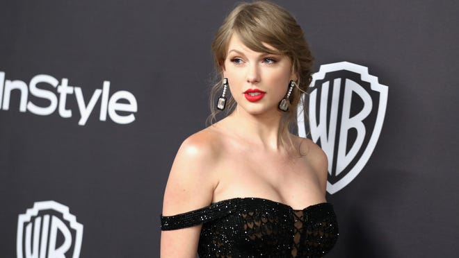 BEVERLY HILLS, CA - JANUARY 06:  Taylor Swift attends the InStyle And Warner Bros. Golden Globes After Party 2019 at The Beverly Hilton Hotel on January 6, 2019 in Beverly Hills, California.  (Photo by Rich Fury/Getty Images)
