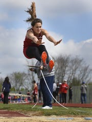 Annville-Cleona's Reagan Hess will be going after her fourth straight Most Outstanding Female Athlete award at Saturday's Lebanon County Track and Field Championships.