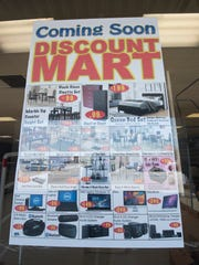 Discount Mart will open the first week of May in the