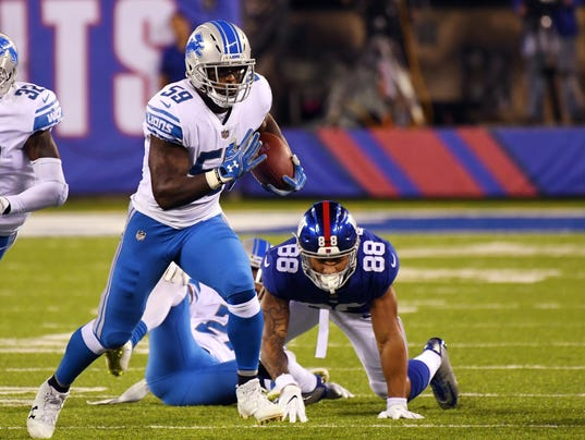 Detroit Lions New York Giants