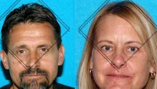 Dennis Richard Smith (left) and Tamra Beam (right)
