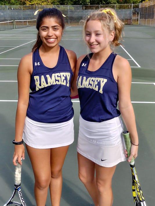 Ramsey girls tennis