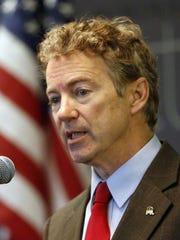 Rand Paul is the junior senator from Kentucky.