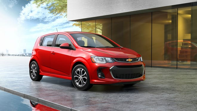 Chevrolet introduces the  2017 Sonic– a more expressive, sporty take on the brand's fun-to-drive small car. The 2017 Sonic delivers a new design, more technology and more active safety coming Fall 2016.
