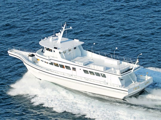 Colts neck couple convert commercial whale watcher to for Personal fishing boat