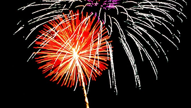 Tom Brown Park will open its gates at 5:30 p.m. on Tuesday and the fireworks display starts after dark.