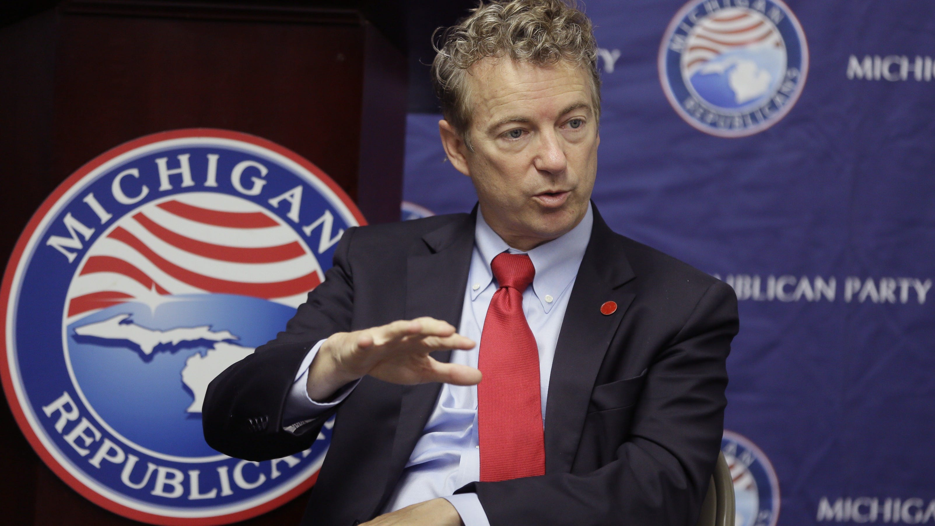 Sen. Rand Paul Rallies Michigan Republicans in Rochester