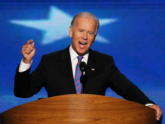 Vice President Joe Biden delivers the 2012 Democratic National Convention in Charlotte.