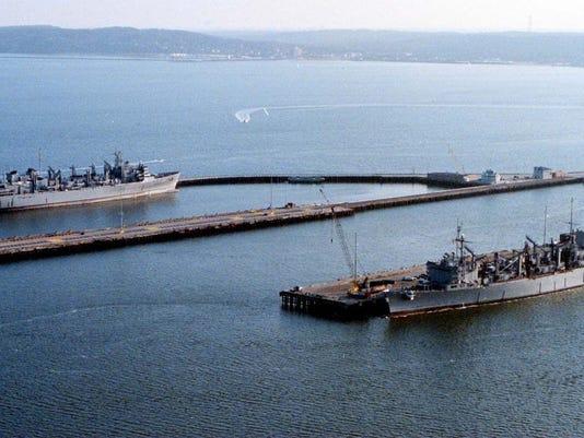 The Leonardo pier, Naval Weapons Station Earle.jpg