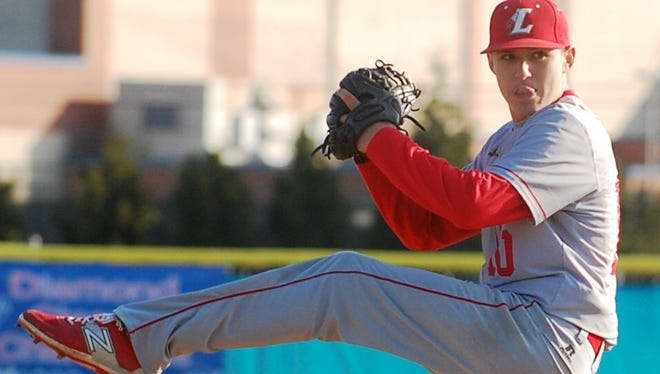 Ben Rodier struck out seven and scattered four hits over 6 2/3 innings Wednesday and Lenape held on for a 5-4 victory over Washington Township.