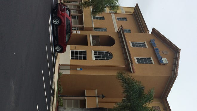 Estero Village Council members have three possible choices as the new Village Hall, with this Corkscrew Palms building favored by some.