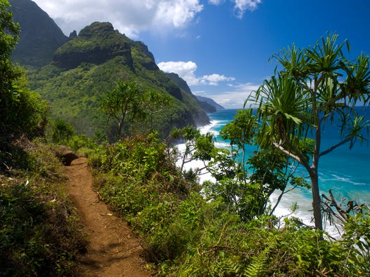 The Kalalau Trail on Kauai is among the world's most beautiful and dangerous hikes.