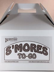 A s'mores kit from Beaverdale Confections.