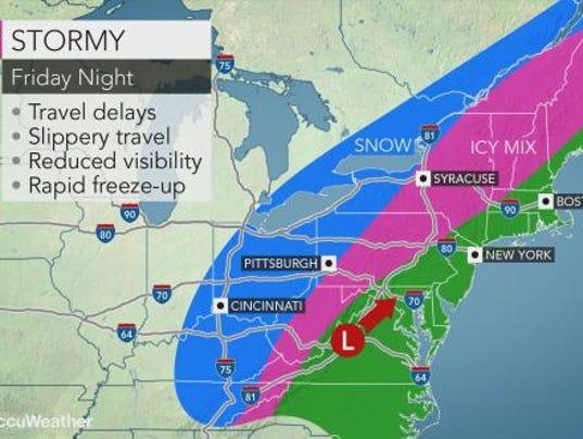 Weather forecast 1-12-18
