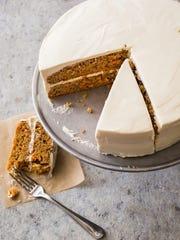 "Carrot Honey Cake from ""Naturally Sweet."""