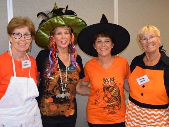 ELC Volunteers Judy McKeon, Sharon Mills, Renet Loban,
