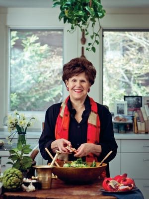 Joan Nathan fell into a cookbook writing career quite by accident.