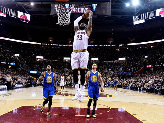 Bell: LeBron James wasn't going to let these NBA Finals end