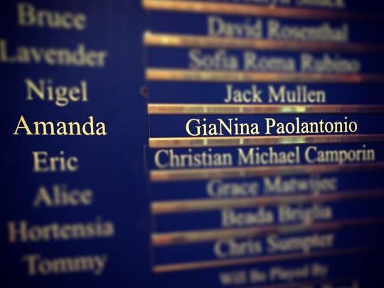 "GiaNina Paolantonio plays  Amanda in Broadway's ""Matilda."""