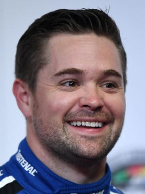 Ricky Stenhouse said he was all-in on the April Fool's Day prank girlfriend and fellow driver Danica Patrick pulled on social media.