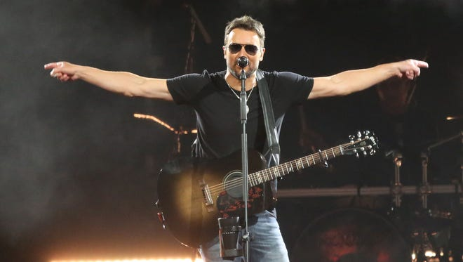 Eric Church performed a two-set show at the BMO Harris Bradley Center.