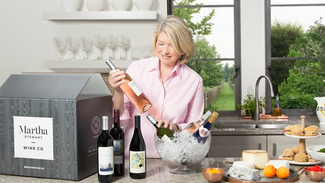 Martha Stewart Wine Co. launched on April 5 with more than 50 bottles from global wine regions available online.