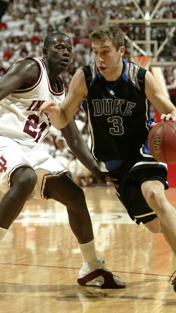FILE -- IU played Duke back-to-back years (2006-07) in the ACC/Big Ten Challenge.